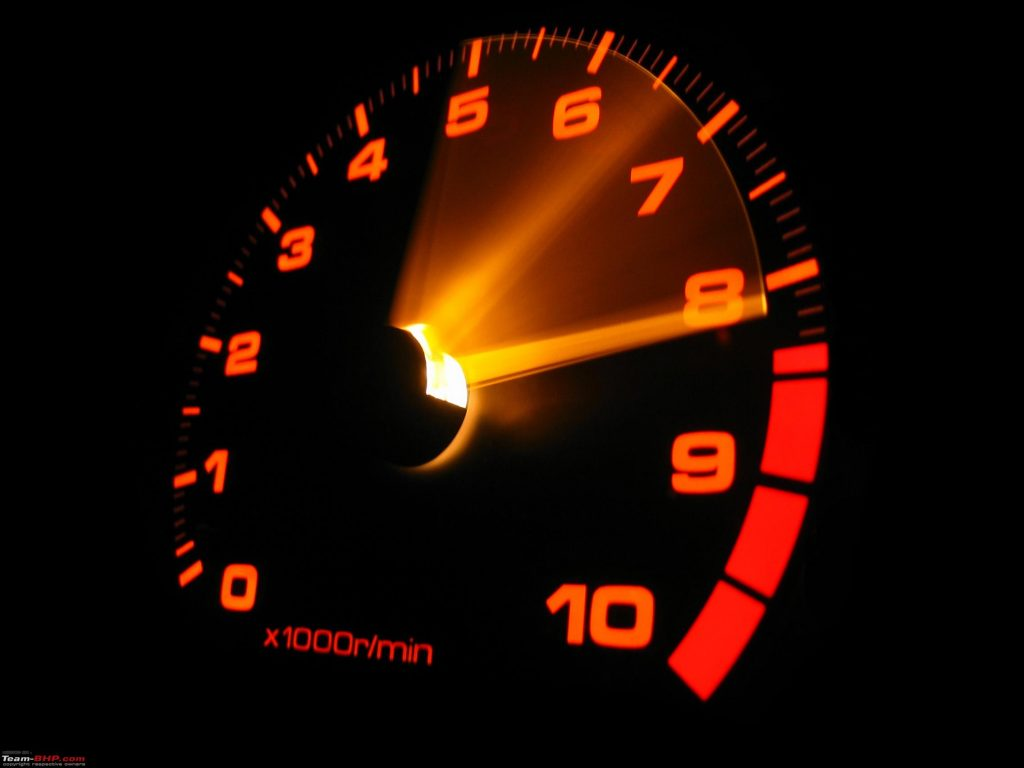 Speed Optimize your Website - speedometer showing a fast speed